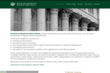 Adwokat Sabina Pikula - Porady Prawne Pruszków