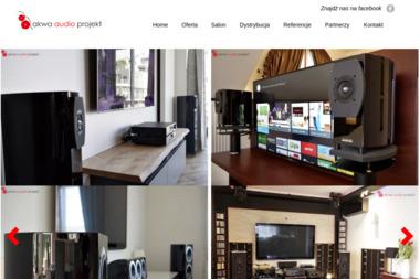 Akwa-Audio Projekt. Instalacje kina domowego, instalacje multiroom - Wynajem Sceny Bochnia