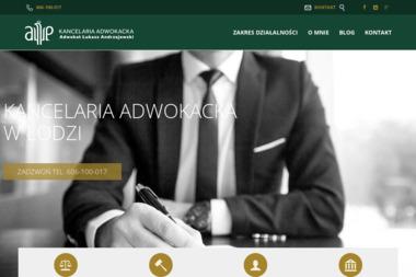 Kancelaria Adwokacka Adwokat Łukasz Andrzejewski - Obsługa prawna firm Łódź
