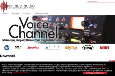 Arcade Audio Sp. z o.o. - Nagłośnienie, oświetlenie Michałowice