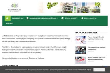 ARKADIADOM - Administrowanie Nieruchomościami Katowice