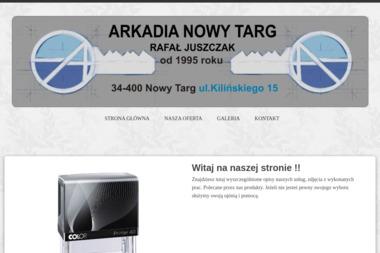 Arkadia Rafał Juszczak - Drukarnia Nowy Targ