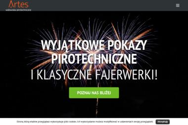 Artes Widowiska Pirotechniczne - Pokazy Pirotechniczne Strzelce Opolskie