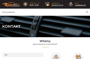 Auto-Dino biuro - Warsztat LPG Warszawa
