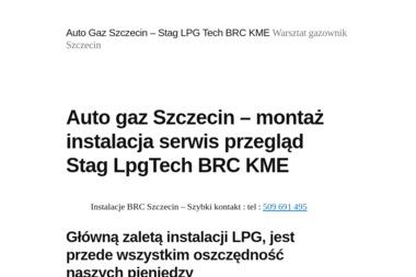 Autogaz Ryś - Montaż Instalacji LPG Łódź