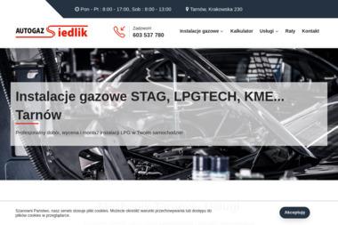 PHU LPG Auto Gaz Siedlik - Warsztat LPG Tarnów