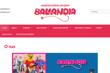 Ballandia - Wypożyczalnia sukien Piła
