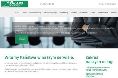 Zespół Usług Finansowo-Księgowych BILANS - SERVIS Spółka z o. o. - Biznes Plan Kielce