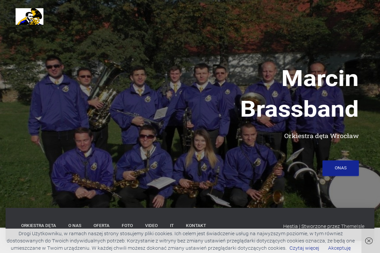 Orkiestra dÄ�ta Marcin Brassband - Big Band Wrocław