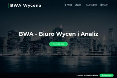 BWA Biuro Wycen i Analiz. Rzeczoznawca, wycena nieruchomości - Firma audytorska Płock
