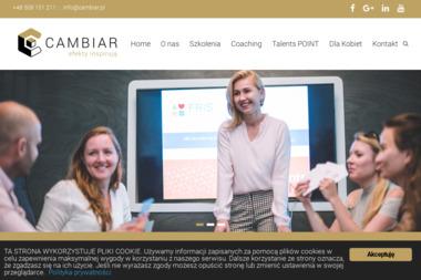 CAMBIAR Agencja Wizerunku i Rozwoju Szkolenia. Warsztaty, coaching, kreowanie wizerunku - Szkolenia menedżerskie Zielona Góra