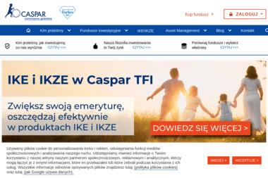 Caspar Towarzystwo Funduszy Inwestycyjnych S.A. - Private Equity Poznań