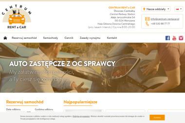 Centrum Rent a Car - Wypożyczalnia samochodów Warszawa