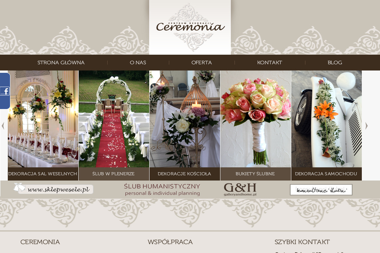 Centrum Dekoracji Ceremonia - Zaproszenia Luboń