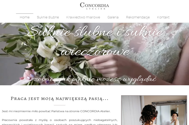 Concordia. Suknie ślubne, suknie wieczorowe - Wypożyczalnia sukien Chyby