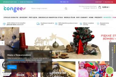 Ellision II Partyshop Congee Pl. Świeczki urodzinowe, balony, akcesoria imprezowe - Wypożyczalnia strojów Chojnice