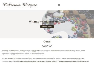 Elżbieta Witkowska Cukiernia Motycze - Cukiernia Motycze Poduchowne