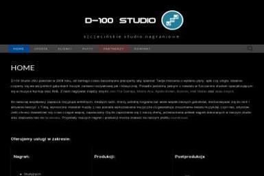 D-100 Studio JMJ - Studia nagrań Szczecin