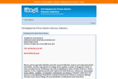 Introligatornia Dartex Dariusz Zalewicz. Oprawa obrazów, oprawa dokumentów - Introligator Szosa Turecka