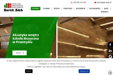 dB Systemy Dźwiękowe Bartek Zdeb - Nagłośnienie, oświetlenie Kraków