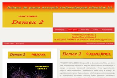 Andrzej Dratwa PPHU Demex 2 - Pokazy Pirotechniczne Opole
