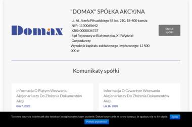 Domax RTV-AGD - Ekspresy do Kawy Łuków