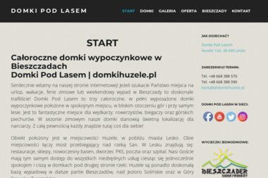 Domki Pod Lasem - Noclegi Lesko
