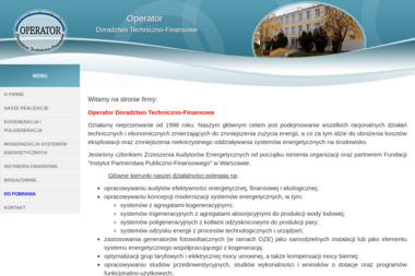 Operator Doradztwo Techniczno-Finansowe - Firma audytorska Olsztyn