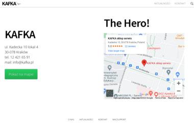 Kafka sklep serwis GSM - Serwis telefonów Kraków