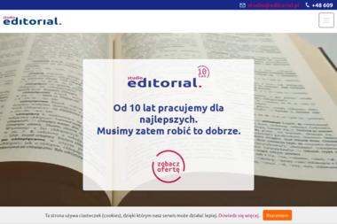 Studio Editorial. Korekta tekstów, redagowanie - Zakład Introligatorski Kraków