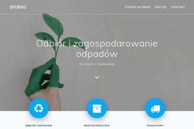 Ekobau Sp. z o.o. - Wywóz Gruzu Opole