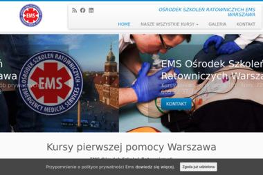 Ośrodek Szkoleń Ratowniczych E M S.A.ndrzej Bocheński - Kurs pierwszej pomocy Legionowo