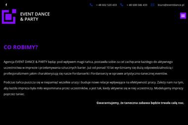 Event Dance Party Agata Boczar - Wynajem Hostess Warszawa