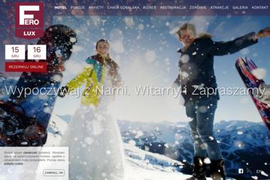 Hotel Fero Lux - Turystyka, sport, rekreacja, usługi Krzyżowa