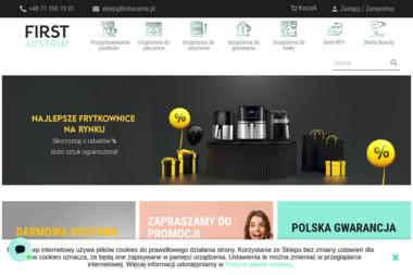 First. AGD, sprz臋t Hi-Fi, akcesoria 艂azienkowe - Ekspresy do Firmy Kobierzyce