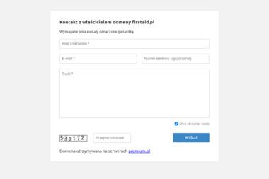 FirstAid.pl Jakub Bałaban - Kurs pierwszej pomocy Warszawa