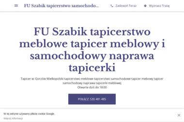 Fu szabik Ewa Sadlo - Usługi Tapicerskie Gorzów Wielkopolski
