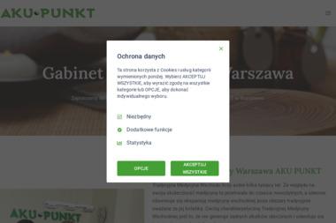 GABINET AKUPUNKTURY AKU-PUNKT - Akupunktura Warszawa
