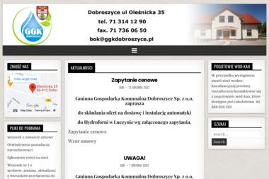 Gminna Gospodarka Komunalna Dobroszyce Sp. z o.o. - Transport Gruzu Dobroszyce