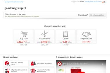 Good One Group. Agencja interaktywna, firma consultingowa w obszarze it - Model Olsztyn