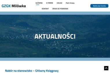 Gminny Zakład Gospodarki Komunalnej w Milówce - Wywóz Gruzu Milówka