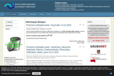 Gminny Zakład Gospodarki Komunalnej w Miłkowicach - Utylizacja Gruzu Miłkowice