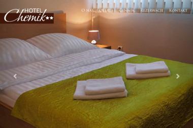 Hotel Chemik. Noclegi, konferencje, imprezy okolicznościowe - Biuro turystyczne Bydgoszcz