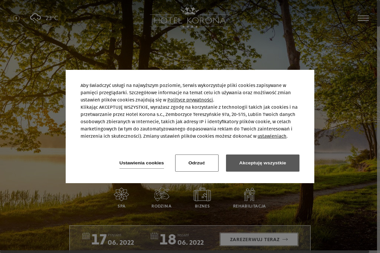 Hotel Korona Spa&Wellness, restauracja - Spa Wellness Lublin