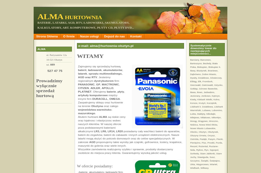 Alma Hurtownia RTV i AGD - Expresy do Kawy Olsztyn