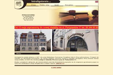 Pracownia Introligatorska - Władysław i Marek Chumowicz S.C. - Usługi Itroligatorskie Gdańsk