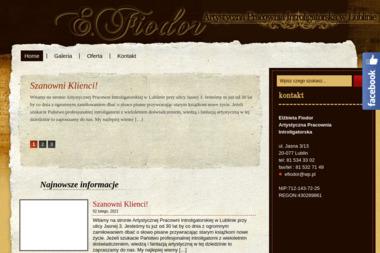 Artystyczna Pracownia Introligatorska - Introligatornia Lublin
