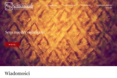 Warsztat Introligatorski Dariusz Grzeszczuk - Drukarnia Opole