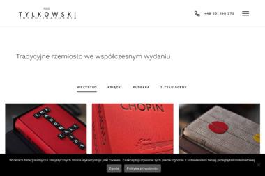 Introligatornia Tylkowski - Oprawianie Dokumentów Poznań