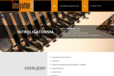 Intro Partner Sp. z o.o. - Sztancowanie Suchy Las